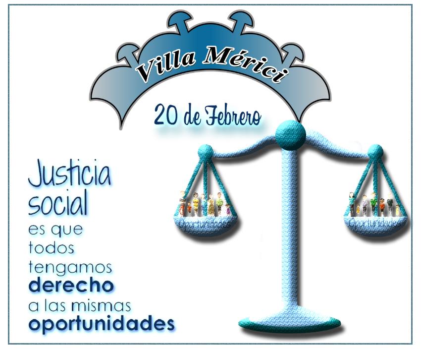 Día Mundial de la Justicia Social.