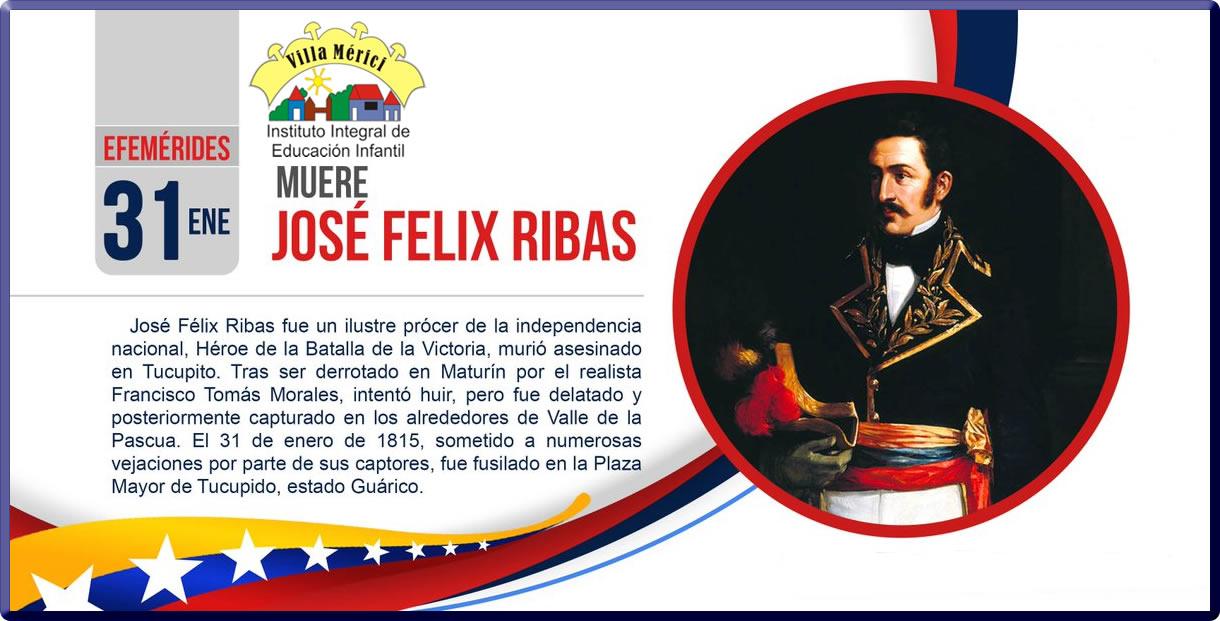 Muere José Félix Ribas (1815) | Militar venezolano.